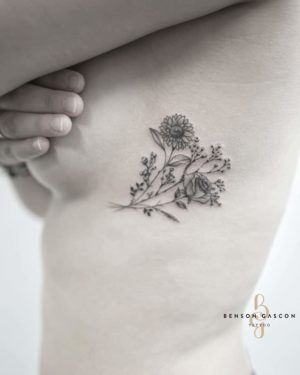 Benson Tattoo Studio Flower Art Tattoo