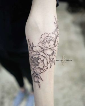 Benson Tattoo Studio Flower Tattoo
