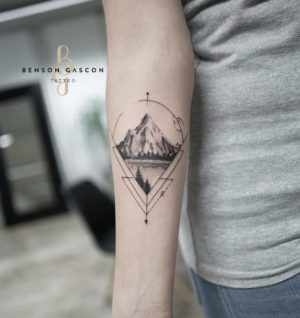 Benson Tattoo Studio Geometric Design Tattoo