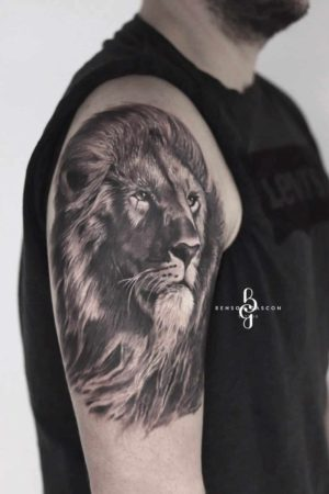 Benson Tattoo Studio Lion Design