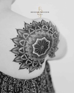 Benson Tattoo Studio Mandala Back Tattoo Design