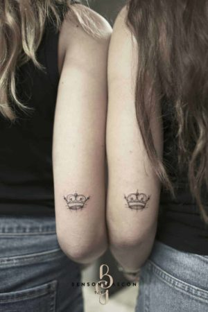 Benson Tattoo Studio Small Crown Tattoo Design