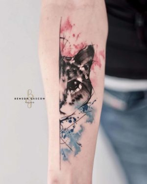 Benson Tattoo Studio Water Color Tattoo