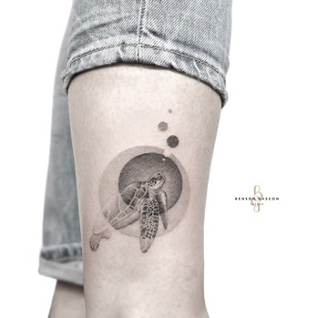 turtle design tattoo